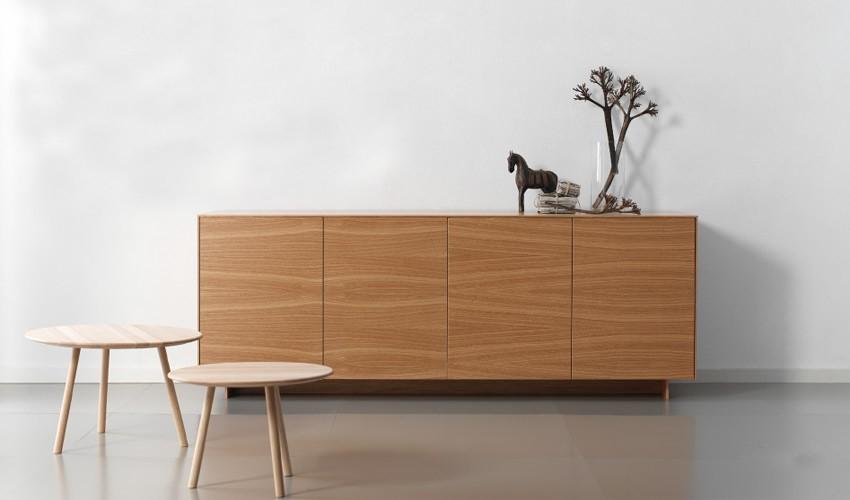 Mueble aparador de dise o fabricado en roble for Diseno de modulares para comedor