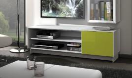 Mesa de Televisión moderna con acabado lacado Ref L141000