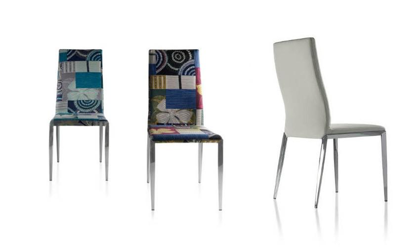 Silla tapizada de lineas sencillas y robustas Ref Q90000
