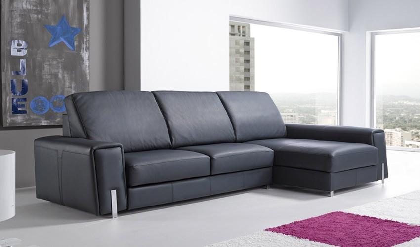 Moderno sof chaiselongue con opci n rinconera y disponible en 3 2 y 1 plaza - Sofa rinconera moderno ...