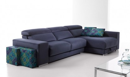 Sof chaiselongue disponible en 3 2 y 1 plaza con opci n for Sofa 1 plaza chaise longue