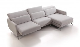 A67000 Sofá Chaiselongue disponible en 3, 2 y 1 plaza con opción Rinconera