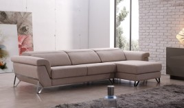 A69000 Sofá Chaiselongue disponible en 3, 2 y 1 plaza con opción Rinconera