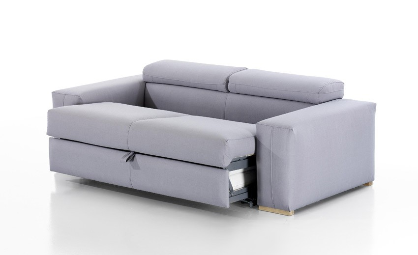 sof cama con apertura italiana disponible en 3 y 2 plazas