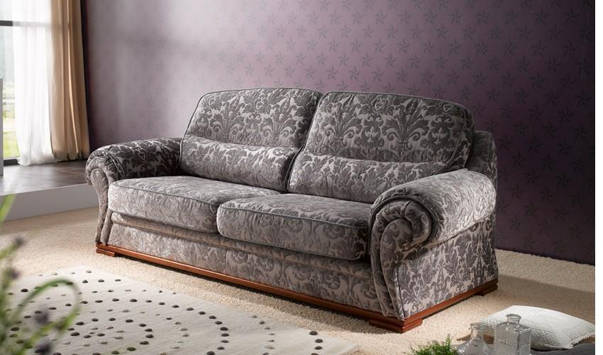 A71000 Sofá Cama con apertura italiana disponible en 3 y 2 Plazas y chaiselongue