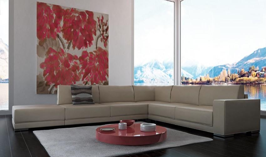 D49000 Moderna Composición modular ideal para grandes salones