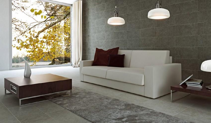 D51000 sof cama de dise o con sistema de apertura italiano - Recibidores de diseno italiano ...
