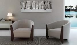 D53000 Butaca de diseño ideal para salas de espera