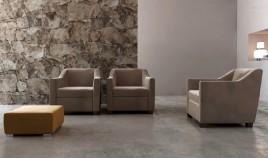 D57000 Elegante Butaca de diseño ideal para salas de espera