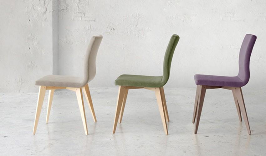 Sillas modernas de madera fabrica de sillas modernas for Sillas de madera tapizadas modernas