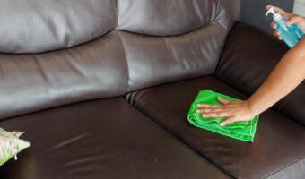 Consejos para mantener correctamente un sofá de piel