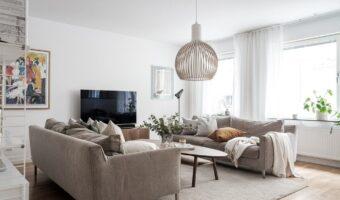 Ideas y consejos para colocar dos sofás en el salón